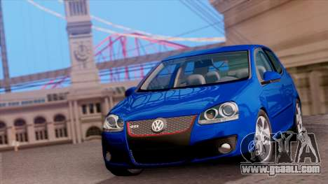 VW Golf V GTI 2006 for GTA San Andreas