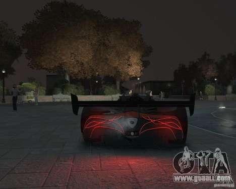 Mazda Furai for GTA 4 right view