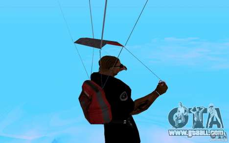 The new parachute for GTA San Andreas sixth screenshot