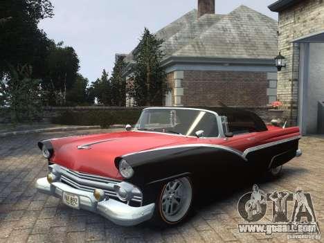 Ford Sunliner Custom 1956 for GTA 4
