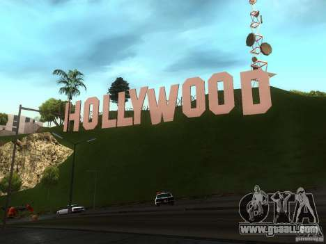 The Hollywood Sign for GTA San Andreas third screenshot