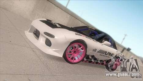 Mazda RX-7 FD K.Terej for GTA San Andreas side view