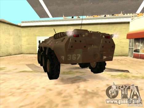 BTR-80 for GTA San Andreas back left view