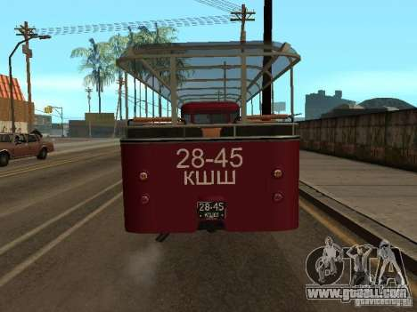 LIAZ 677 Excursion for GTA San Andreas right view