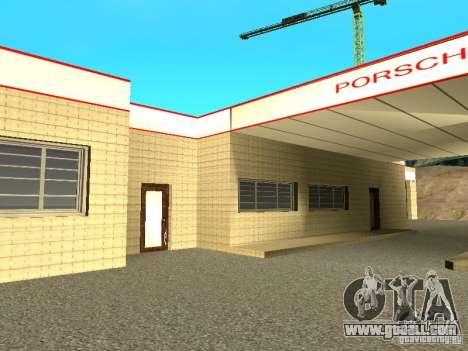 Porsche Garage for GTA San Andreas third screenshot