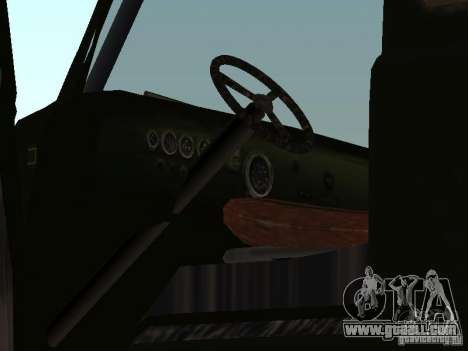 Uaz Monster for GTA San Andreas back view