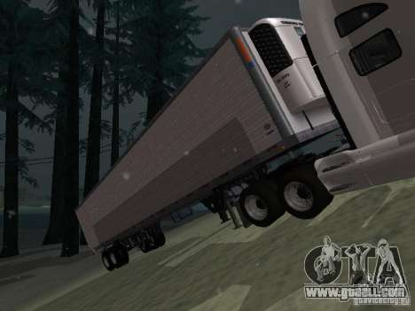 Refrigerator Trailer for GTA San Andreas left view