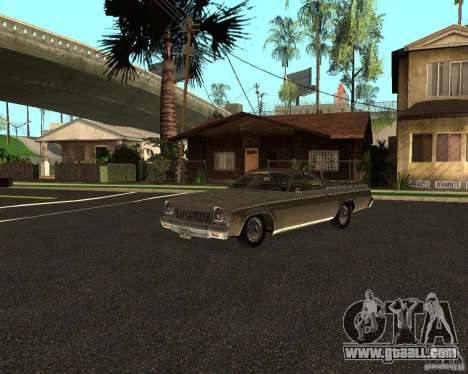 Chevrolet El Camino 1973 for GTA San Andreas left view
