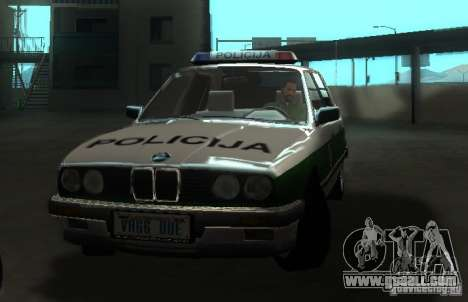 BMW E30 Sedan Police for GTA San Andreas