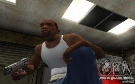 Barreta M9 and Barreta M9 Silenced for GTA San Andreas sixth screenshot