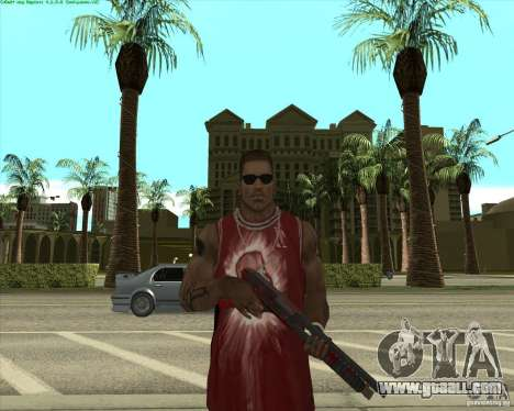 Blood Weapons Pack for GTA San Andreas sixth screenshot