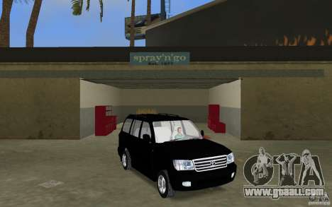Toyota Land Cruiser 100 VX V8 for GTA Vice City