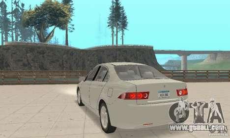 Honda Accord Comfort 2003 for GTA San Andreas left view