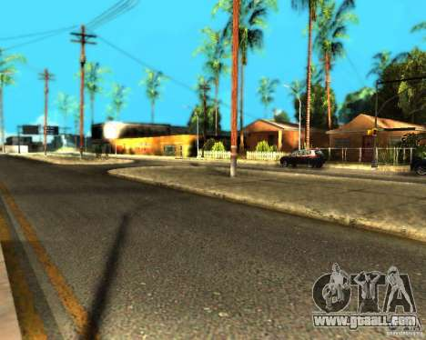 ENB For medium PC for GTA San Andreas seventh screenshot