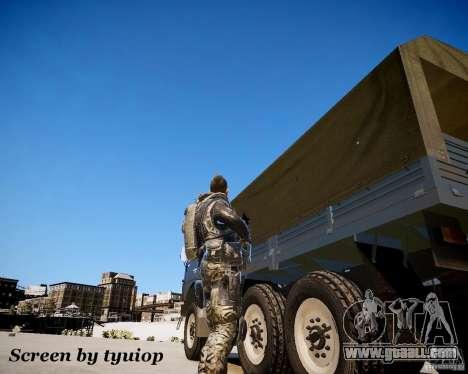 Modern Warfare 2 Soap for GTA 4 third screenshot