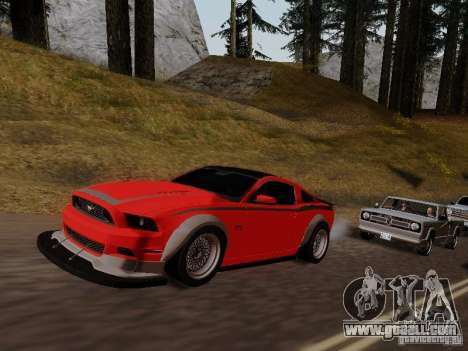 Ford Mustang RTR Spec 3 for GTA San Andreas right view
