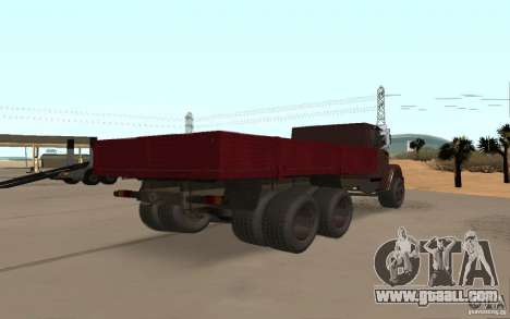 ZIL 6309 for GTA San Andreas back left view