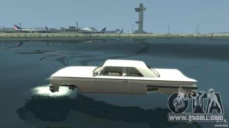 Voodoo Boat for GTA 4 left view