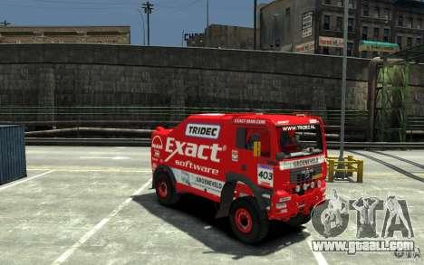 MAN TGA Rally Truck for GTA 4 back view