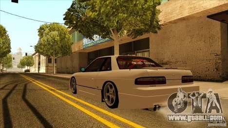 Nissan Silvia S13 MyGame Drift Team for GTA San Andreas inner view