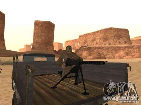 A Soviet soldier for GTA San Andreas