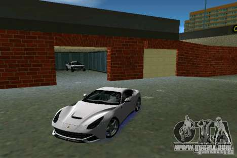 Ferrari F12 Berlinetta for GTA Vice City left view