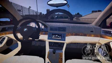 BMW M5 E39 Hamann [Beta] for GTA 4 back view