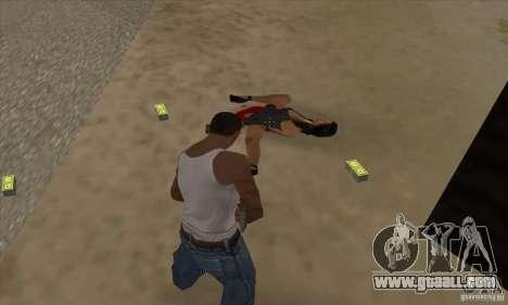 GTA SA Real ragdoll for GTA San Andreas third screenshot