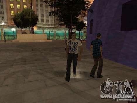 Black Stallion Peds for GTA San Andreas third screenshot