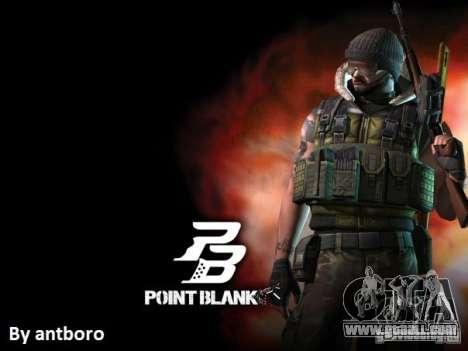 [Point Blank] Terrorist for GTA San Andreas