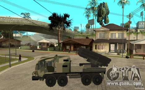 Missile Launcher Truck for GTA San Andreas left view
