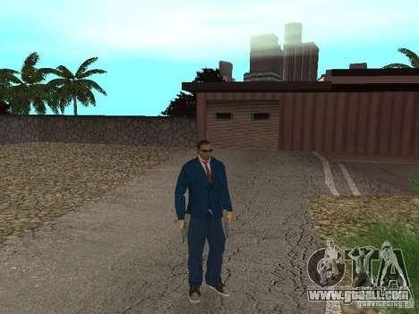 CJ Mafia Skin for GTA San Andreas fifth screenshot