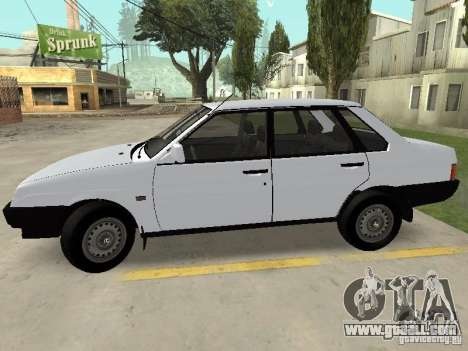 VAZ 21099 Drain for GTA San Andreas