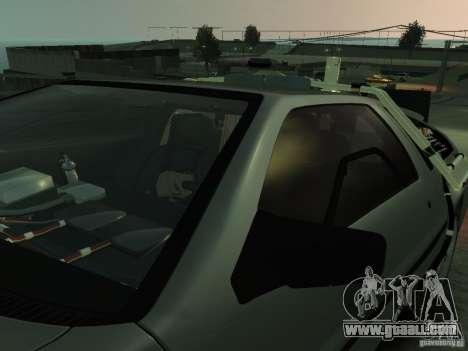 DeLorean BTTF 2 for GTA 4 upper view