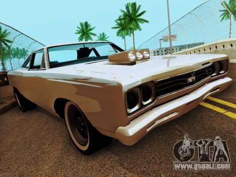 Plymouth GTX for GTA San Andreas