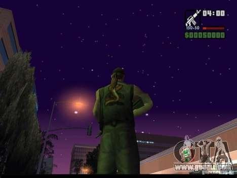 Starry sky v2.0 (for SA: MP) for GTA San Andreas