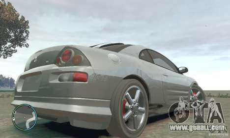 Mitsubishi Eclipse Spyder for GTA 4 back left view
