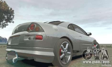 Mitsubishi Eclipse Spyder for GTA 4 back left view