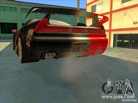 Acura NSX 1991 Tunable for GTA San Andreas wheels