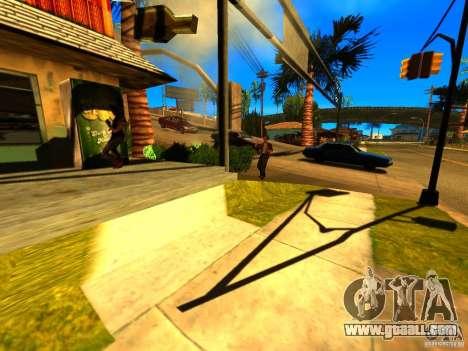 Mod Beber Cerveja V2 for GTA San Andreas third screenshot