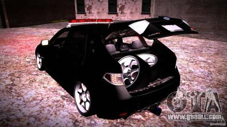 Subaru Impreza WRX STI for GTA San Andreas side view