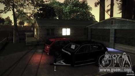 BEAM X5 Trailer for GTA San Andreas inner view
