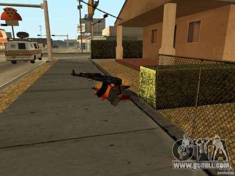 Domestic weapons-version 1.5 for GTA San Andreas ninth screenshot