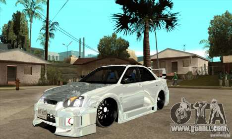 Subaru Impreza Tunned for GTA San Andreas