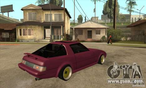 Mazda RX7 SA22C for GTA San Andreas right view