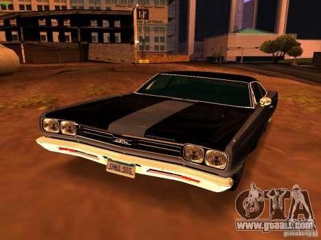 Plymouth GTX 1969 for GTA San Andreas
