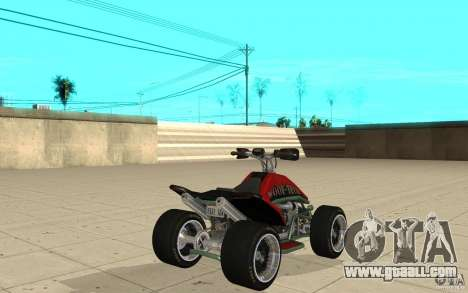 Powerquad_by-skin 2-MF Woofi for GTA San Andreas back left view