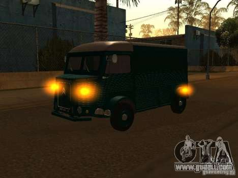 Citroen HY 1972 for GTA San Andreas back left view