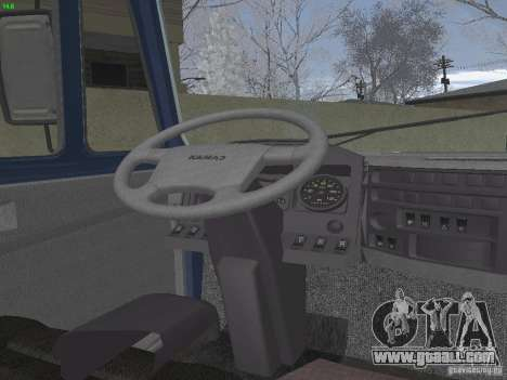KAMAZ 5460 Sport for GTA San Andreas inner view