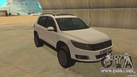 Volkswagen Tiguan 2012 v2.0 for GTA San Andreas back view